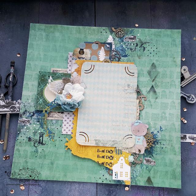 @nastyalena #layout #scrapbooking