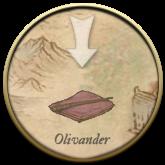 L'icona di Olivander sulla Mappa