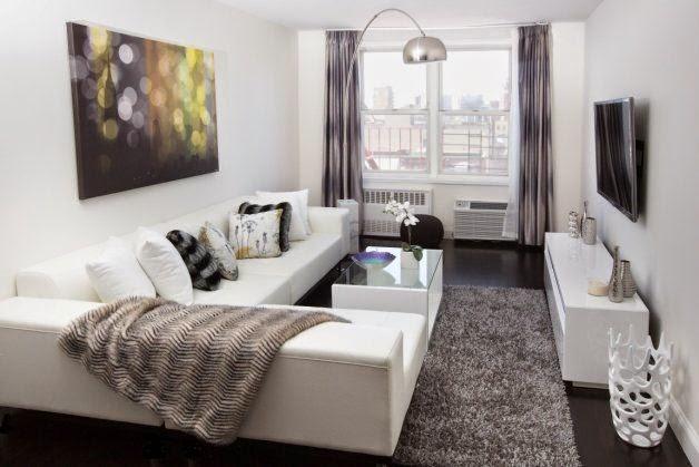 este saln queda encajonado en uno de los rincones del living room pero al estar abierto gana en sensacin de amplitud