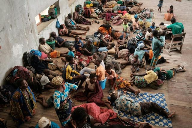 Vítimas do desastre climático na África