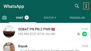 Cara membuka Whatsapp Terblokir
