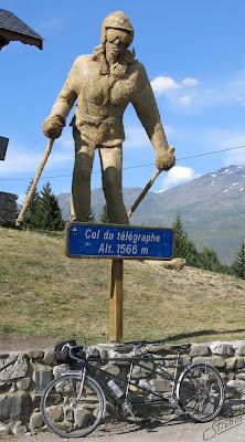 Routens tandem, Col du Télégraphe.