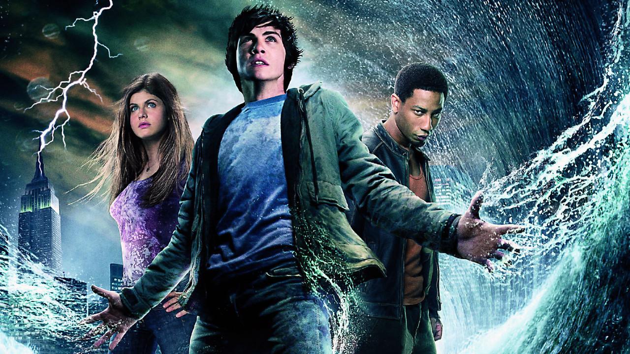 Percy Jackson e o Ladrão de Raios está disponível na Netflix