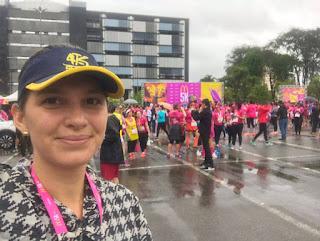 4K Clube na corrida M5K Mulheres em Movimento