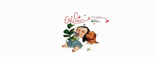 4. Ảnh Bìa Facebook Bài Hát Cô Gái M52 | Huy ft. Tùng Viu