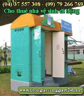 Cho thuê nhà vệ sinh,bán nhà vệ sinh di động