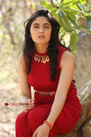 Telugu Actress Zahida Sam Latest Pos in Red Gown at RF Films New Movie Opening  0316.JPG