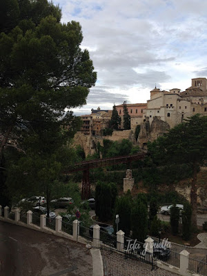 Vista desde el Parador de Cuenca