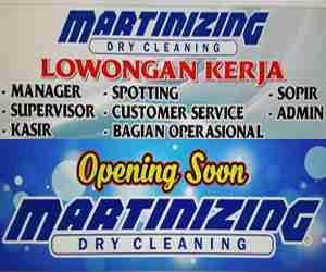 Lowongan Kerja di Martinizing Dry Cleaning Makassar