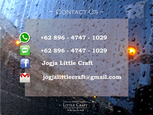 contact us - jogja little craft