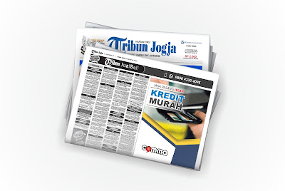 pasang iklan kredit murah di koran tribun jogja