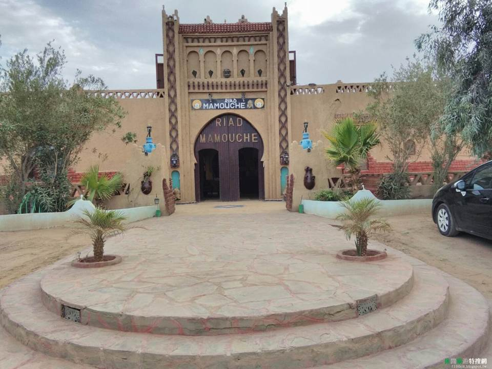 [摩洛哥/撒哈拉沙漠] 沙漠中的小小王宮 -- 曼母什酒店(Riad Mamouche)
