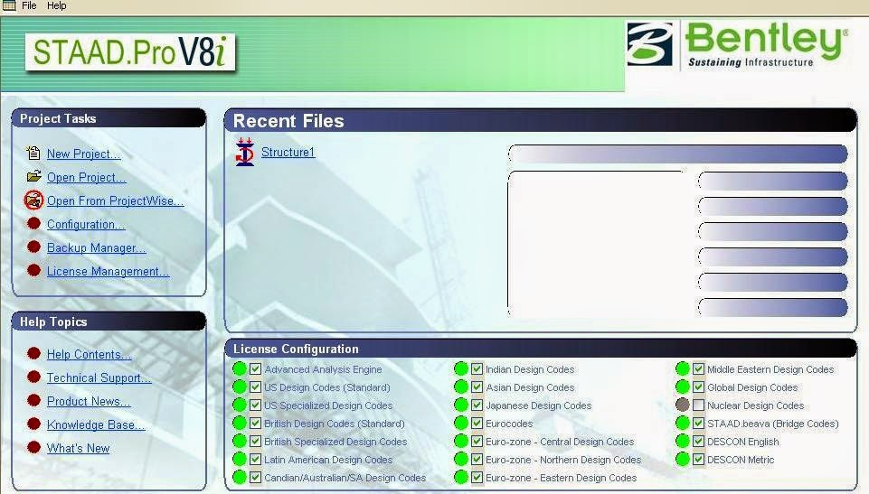 Free Download full Staad Pro V8i software with crack | Civil