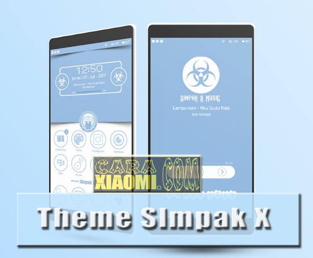 Tema Miui Simpak X Mtz For Xiaomi Android New Version