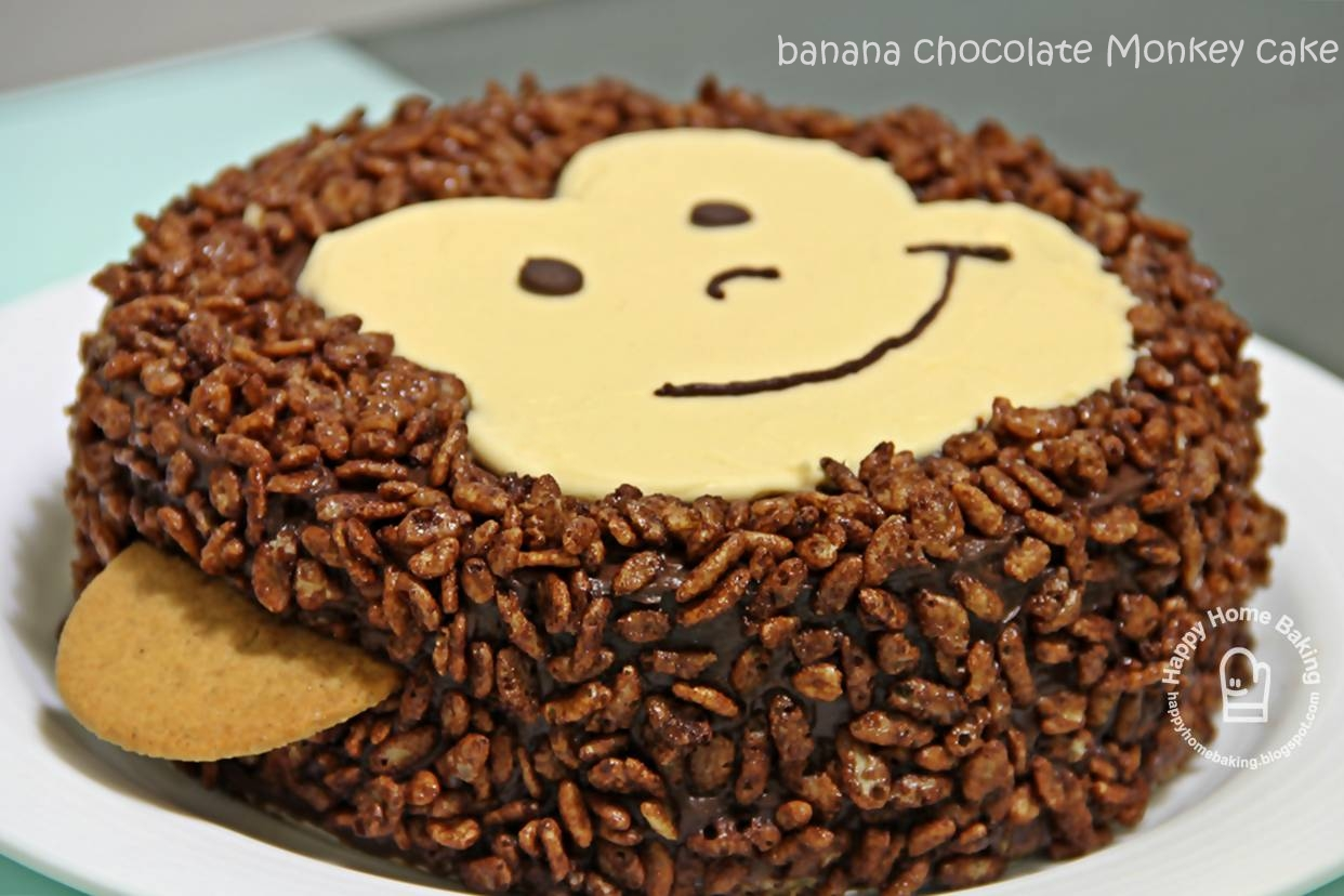 Easy Monkey Birthday Cake Recipe