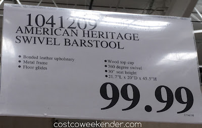 Deal for the American Heritage Bar Height Barstool at Costco
