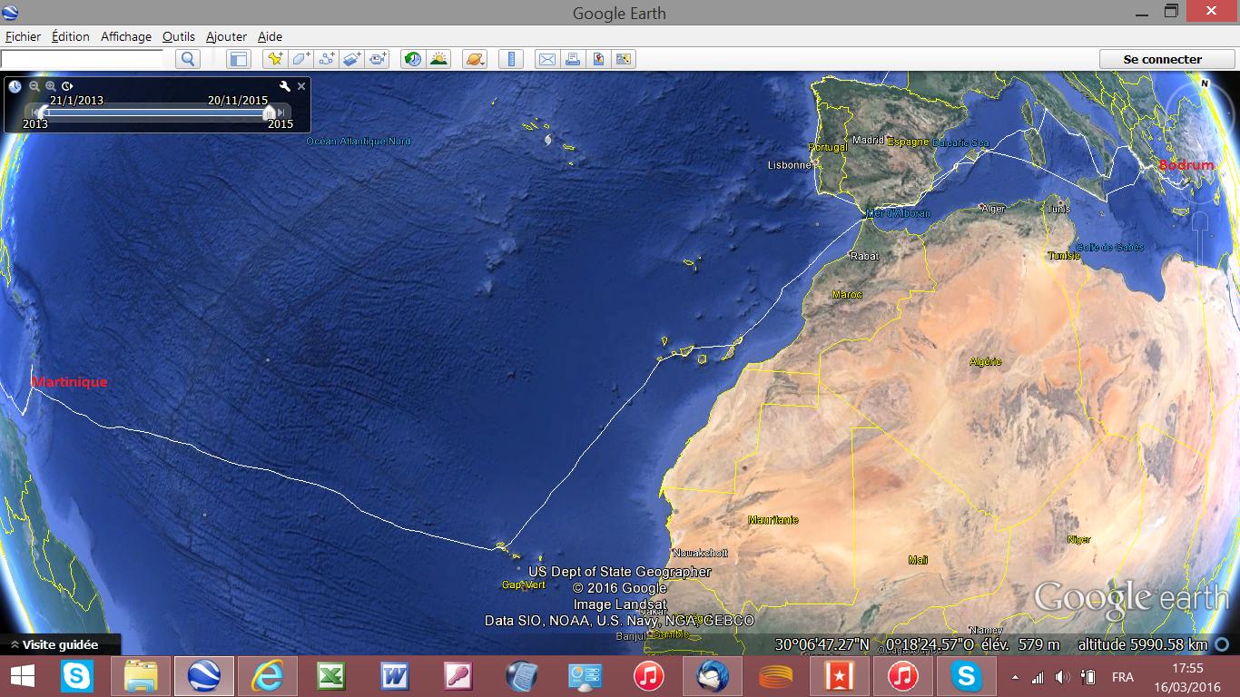 Les aventures de liber parcours for Table 6 km turquie