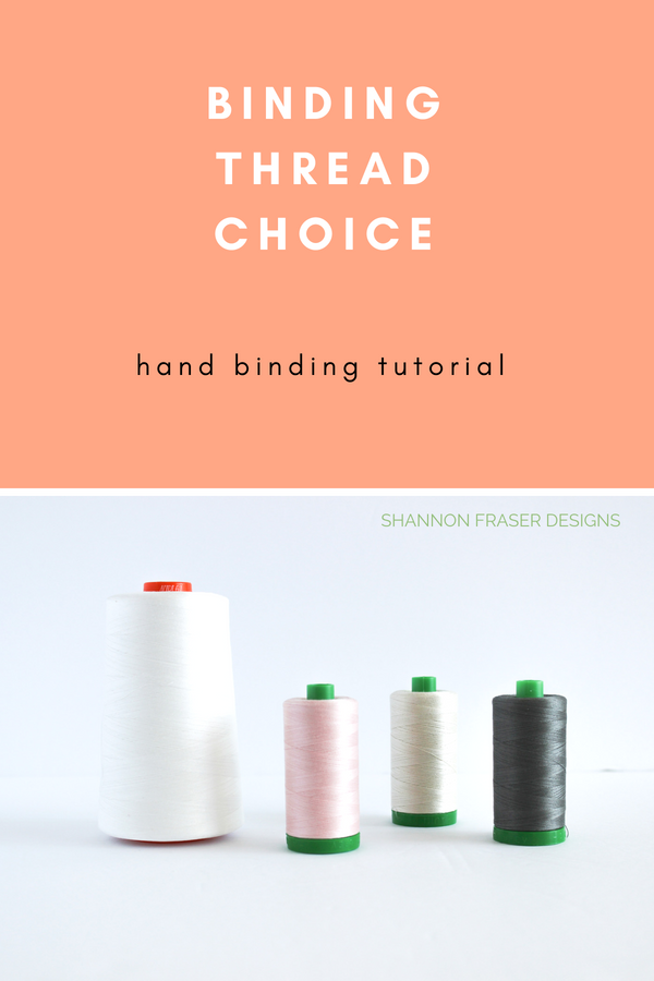 How to choose your binding thread color | Quilt Binding Tutorial Part 2 | Shannon Fraser Designs