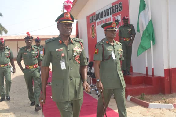 HANDING AND TAKING OVER CEREMONY CONCLUDED AT ZARIA ARMY