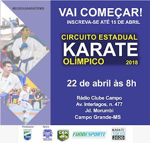 Circuito Sul-Mato-Grossense de Karate - 1ª Etapa