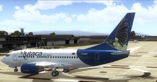 [FSX/P3D] PMDG Boeing 737-600 Rutaca Airlines YV169T, YV379T, YV380T and YV390T