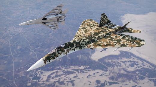 Arma3のTo-201戦闘機