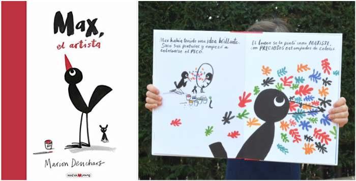 cuentos libros infantiles potenciar, fomentar sana alta autoestima max el artista