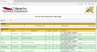 16.17 Apache Tomcat Manager Application