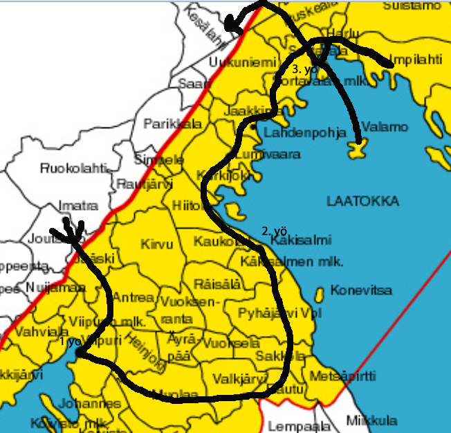Venäjän Karjalan Kartta