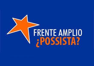 Concejales del Frente Amplio Progresista de San Isidro cerca del intendente Gustavo Posse.