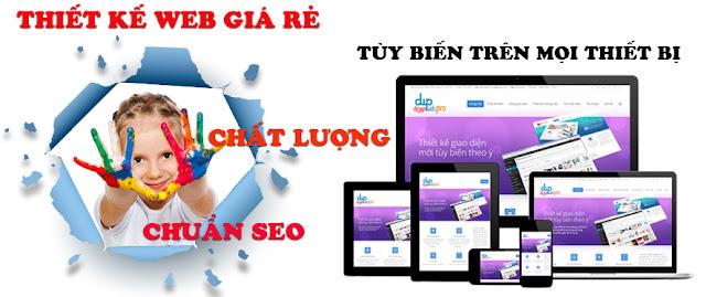 Thiết kế web tại Quảng Nam lĩnh vực bán hàng online