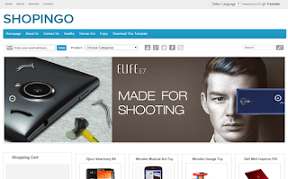 Shopingo Blogger Template