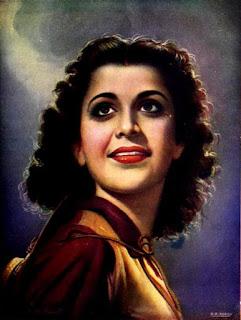 Nigar in 1949 film Sunehre Din