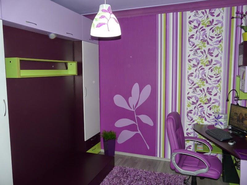 Oficina color morado