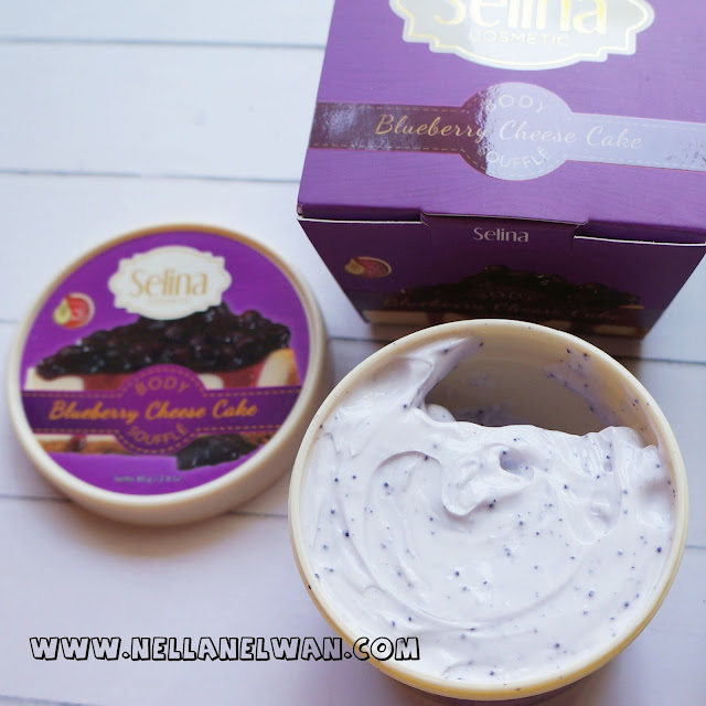 Selina Body Souffle Blueberry Cheese Cake