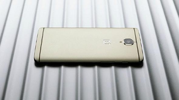 OnePlus 3 Soft Gold