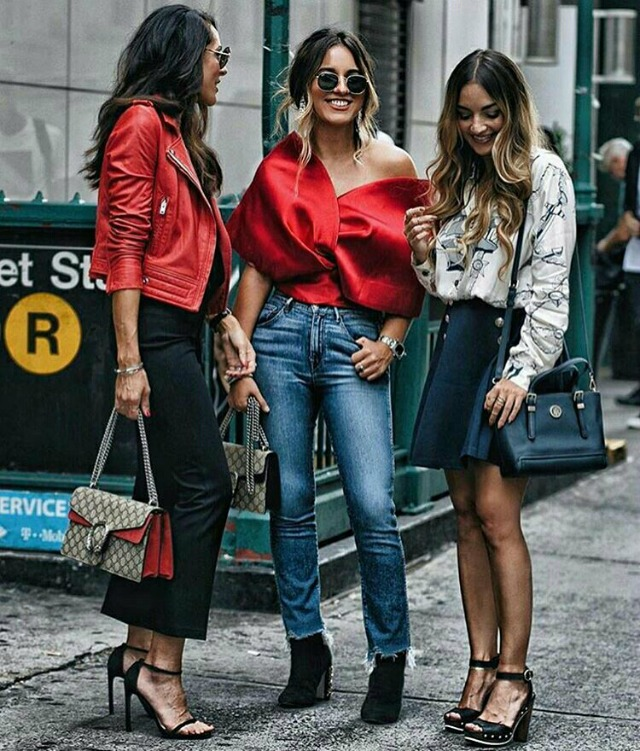 Looks vermelhos - outfits