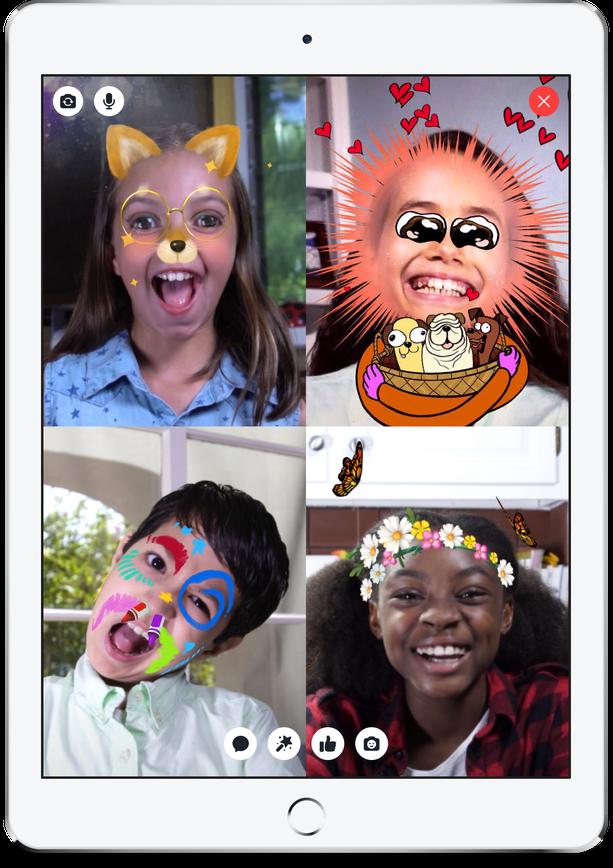 Facebook Rilis Messenger Kids untuk Anak 13 Tahun ke Bawah