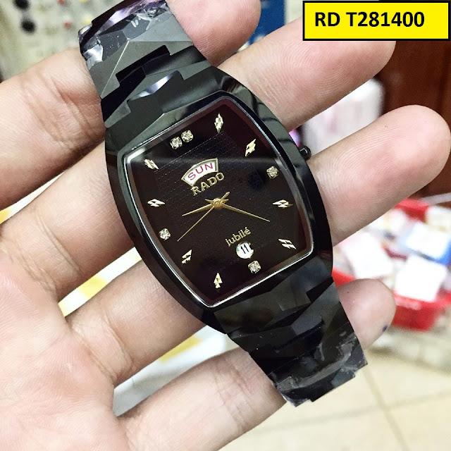 Đồng hồ nam mặt vuông Rado T281400