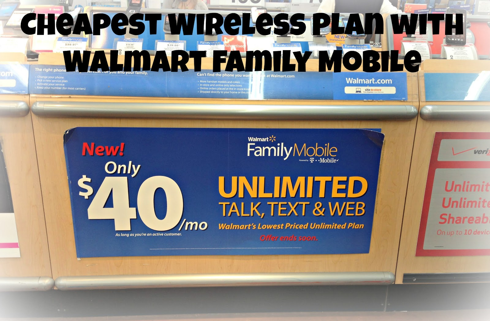 Cheap Wireless Plan with Walmart Family Mobile - Guide For Moms