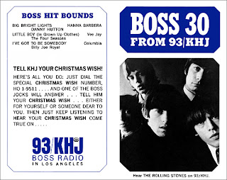 KHJ Boss 30 No. 22 - The Rolling Stones