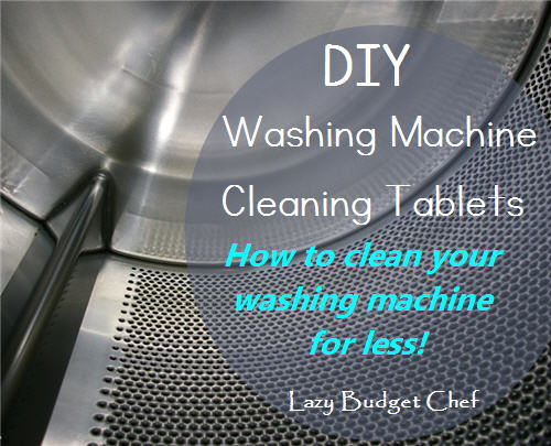 Diy Washing Machine Cleaning Tablets
