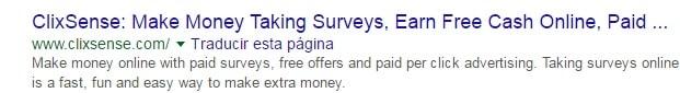 En clixsense ves anuncios, juegas, refieres, ganas dinero. Es una ptc clásica, una de las mejores calificadas