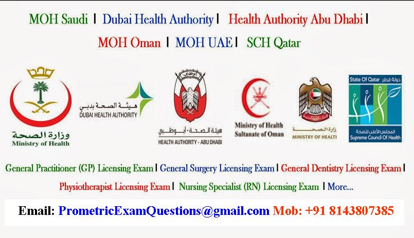 Prometric Exam Questions For Medical Technology