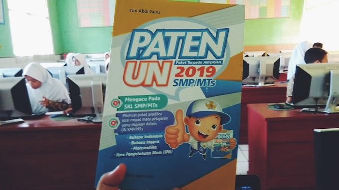 Kunci jawaban dan Pembahasan Buku Paten UN 2019
