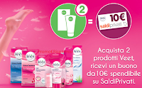 Logo Veet ti regala 10 euro per il tuo shopping