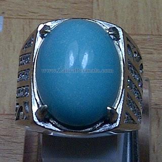 Cincin Batu Posfor Nyala Biru - ZP 1021