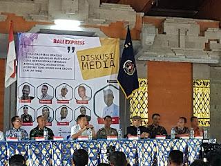 Muspida, PHDI, PHRI dan Insan Media Bali Deklarasi Sukseskan Pertemuan AM IMF-WBG 2018
