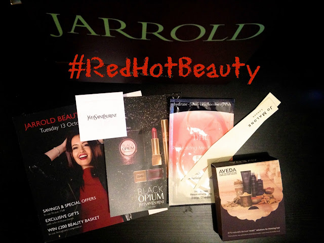 The Jarrold Red Hot Beauty Evening