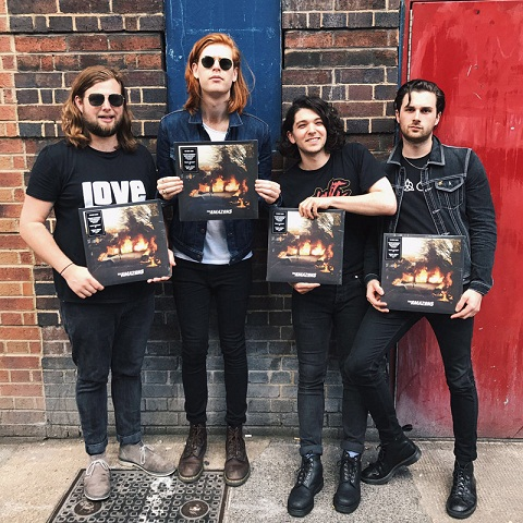 Biodata The Amazons (Band)